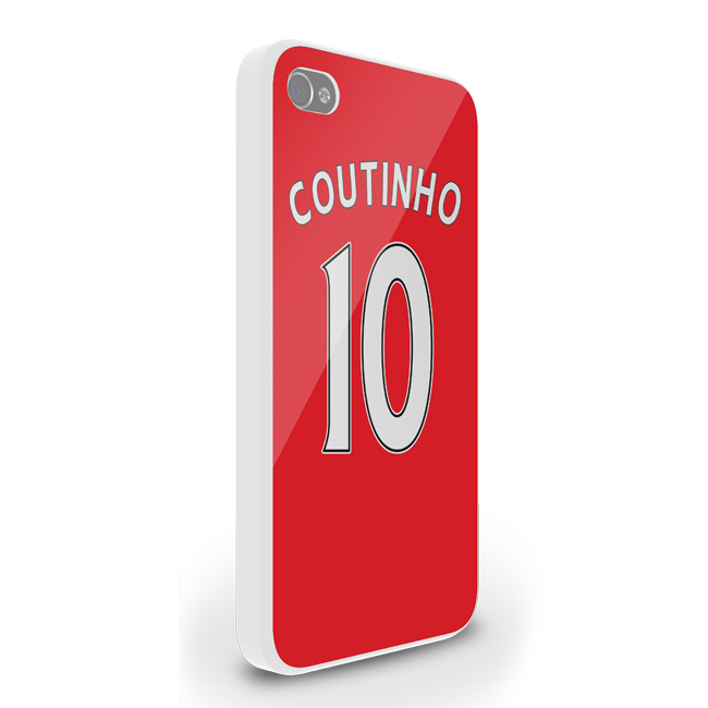 Philippe Coutinho Liverpool Iphone 5 Cover (red)