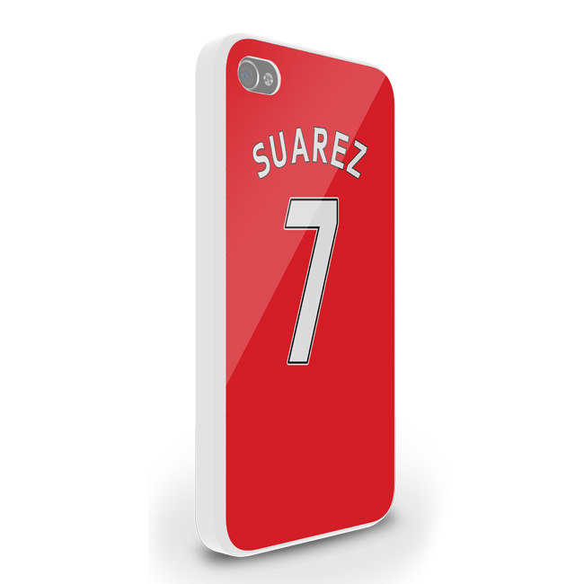 Luis Suarez Liverpool Iphone 5 Cover (red)