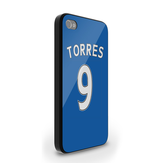Fernando Torres Chelsea Iphone 4 Cover (blue)