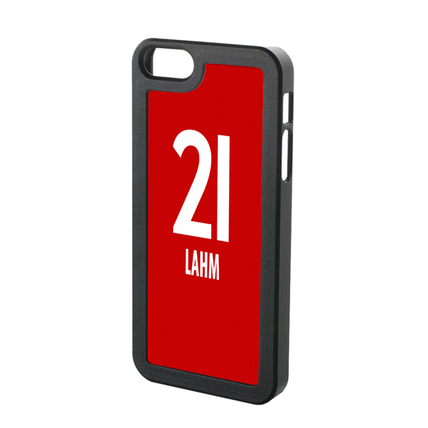 Phillip Lahm Bayern Munich Iphone 5 Cover (red-white)