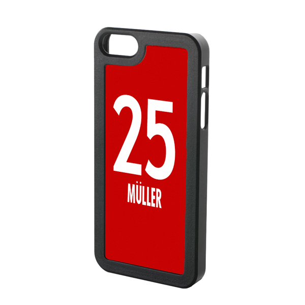 Thomas Muller Bayern Munich Iphone 4 Cover (red-white)