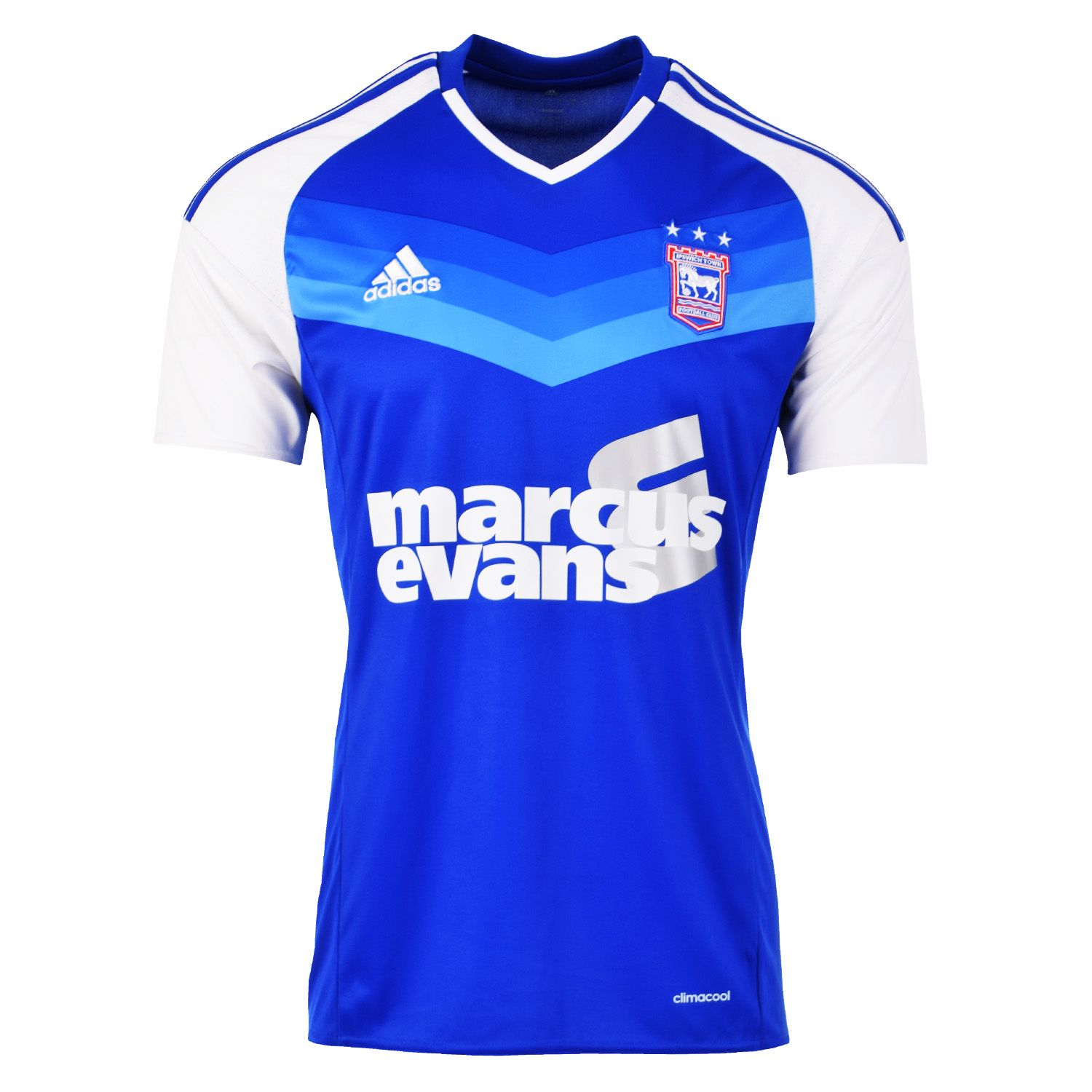 20162017 Ipswich Town Adidas Home Football Shirt