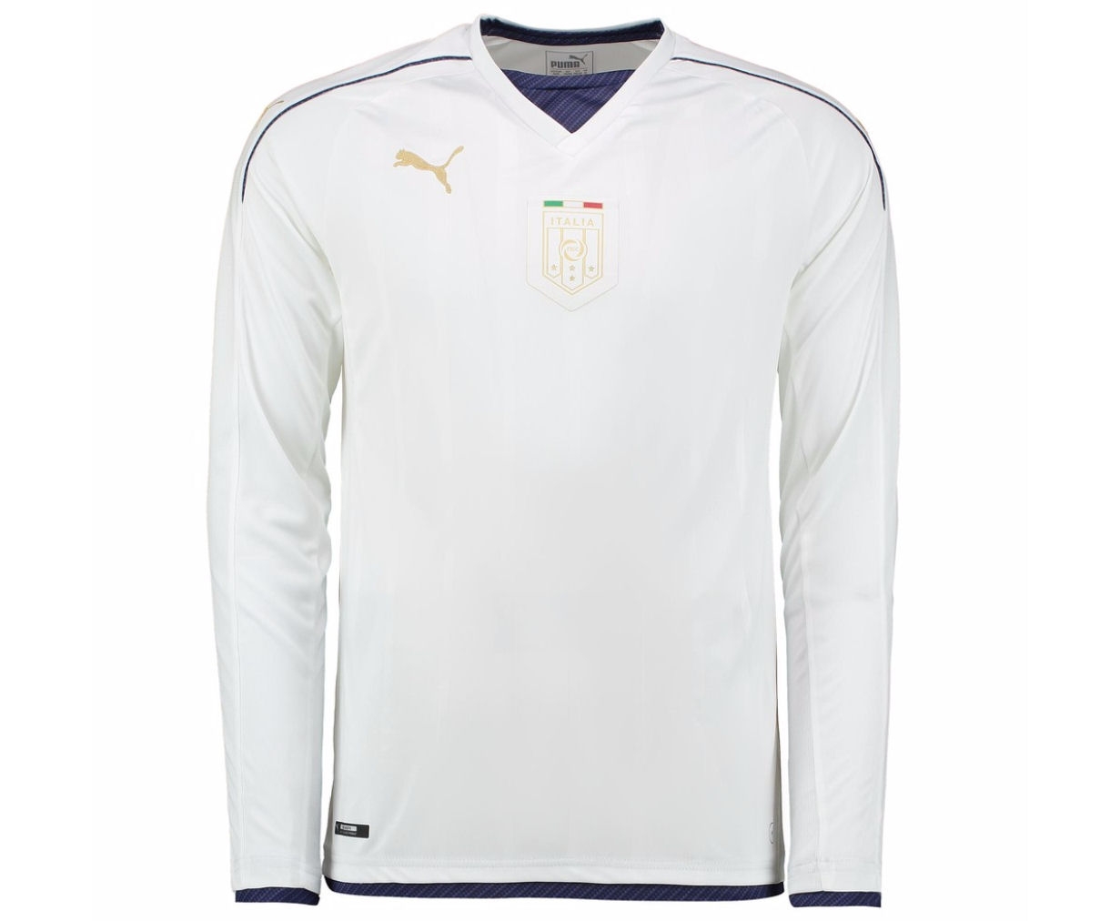 Italy 2006 Puma Tribute Away Long Sleeve Shirt