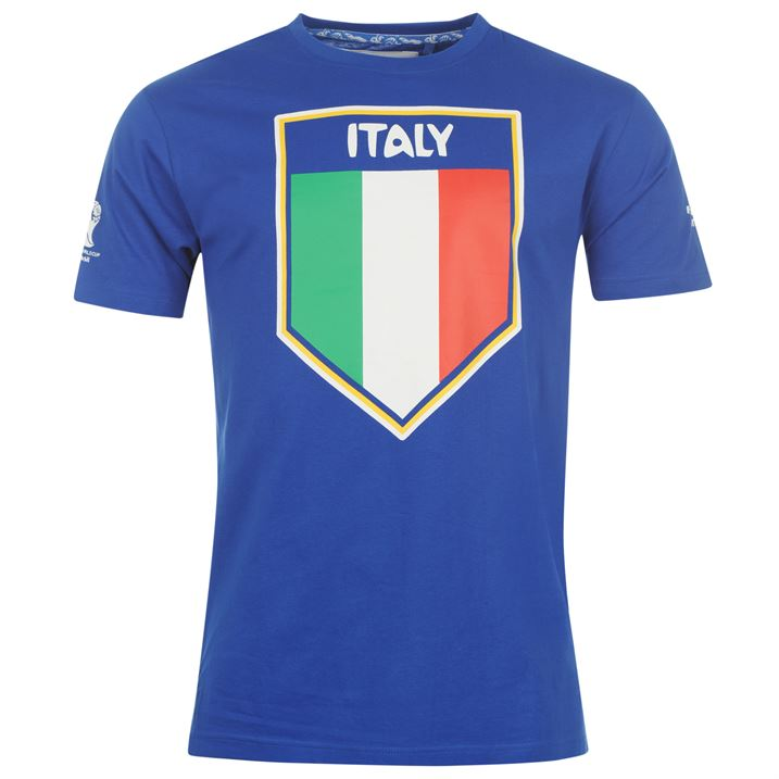Italy 2014 FIFA Flag Tee (Blue)