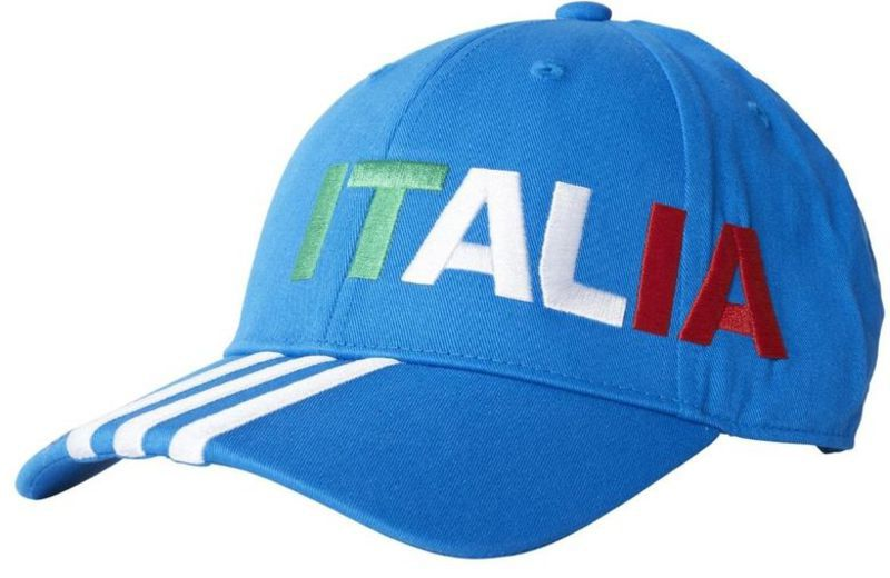 20162017 Italy Adidas 3S Baseball Cap (Blue)