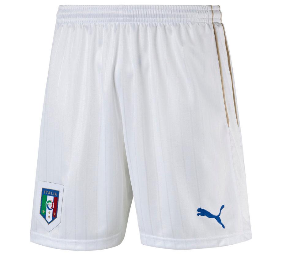 2016-2017 Italy Puma Home Shorts (White) - Kids