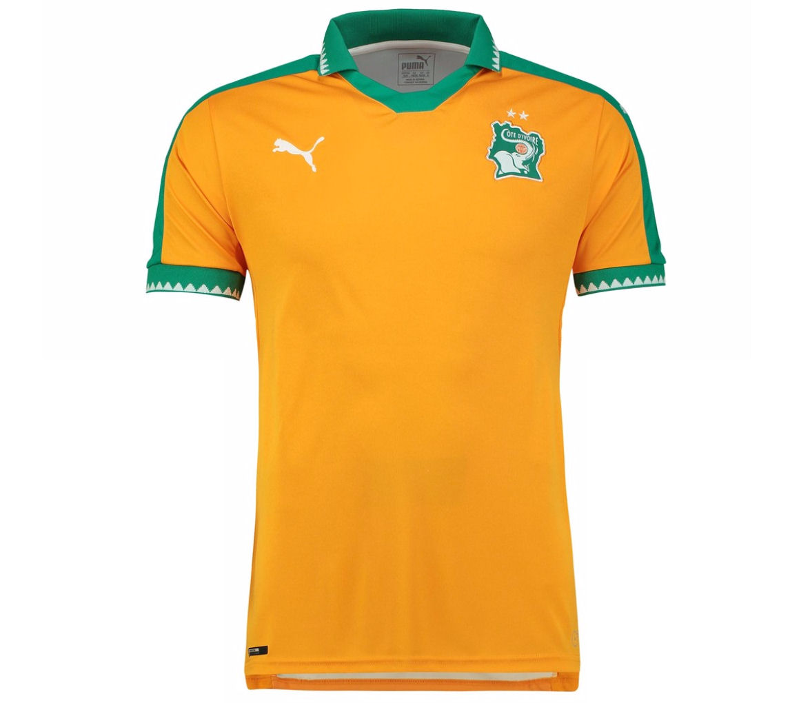 20162017 Ivory Coast Home Puma Football Shirt