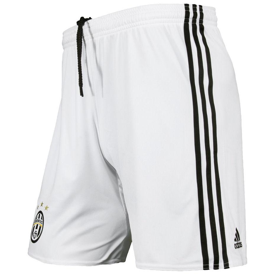 2016-2017 Juventus Adidas Third Shorts (White)