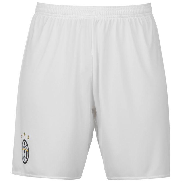 2016-2017 Juventus Adidas Away Shorts (White)