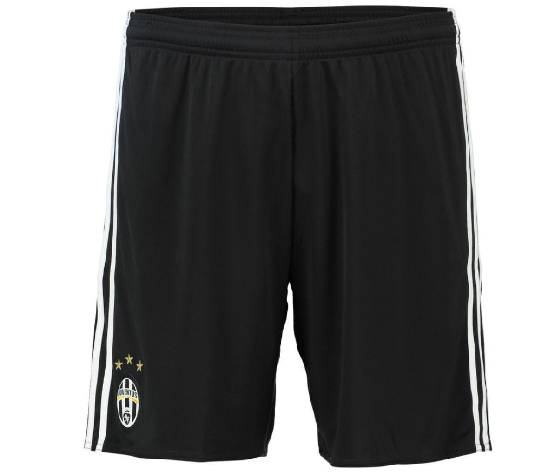 2016-2017 Juventus Adidas Home Shorts (Black)