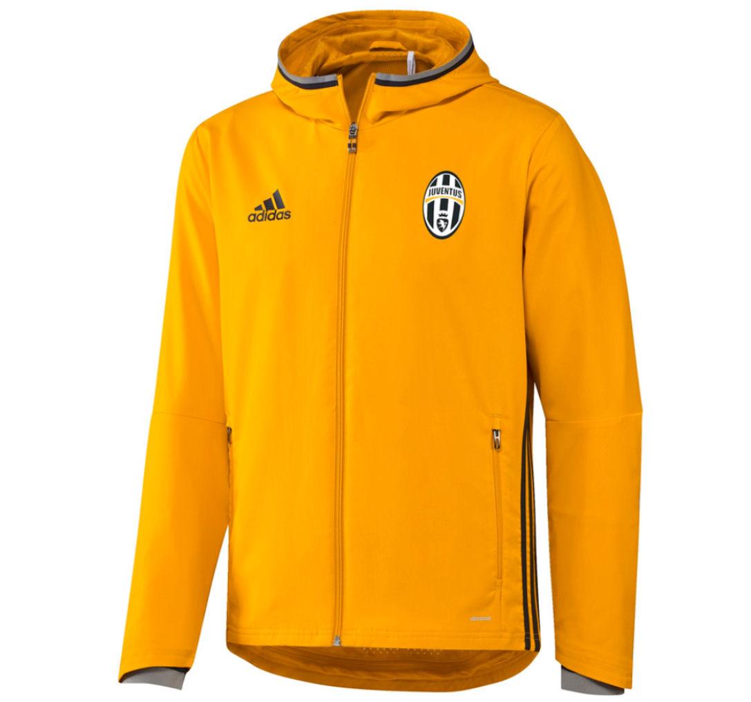 2016-2017 Juventus Adidas Presentation Jacket (Gold)