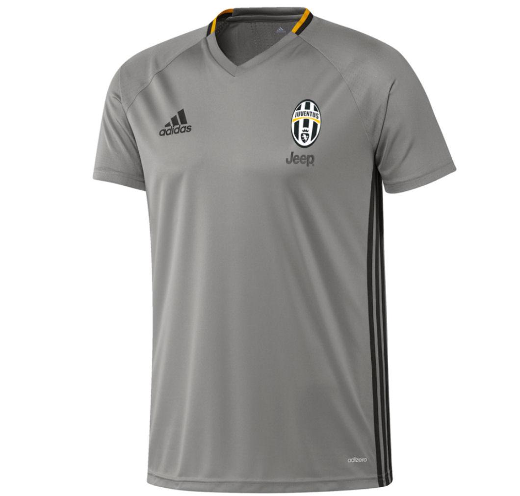2016-2017 Juventus Adidas Training Shirt (Grey)