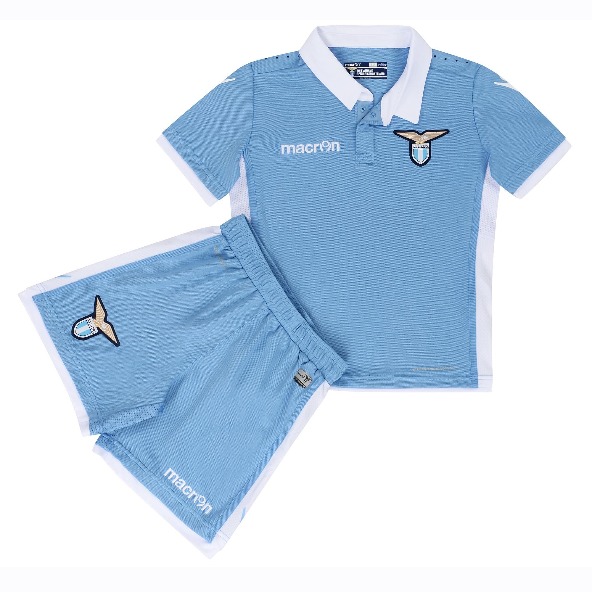 2016-2017 Lazio Home Macron Mini Kit