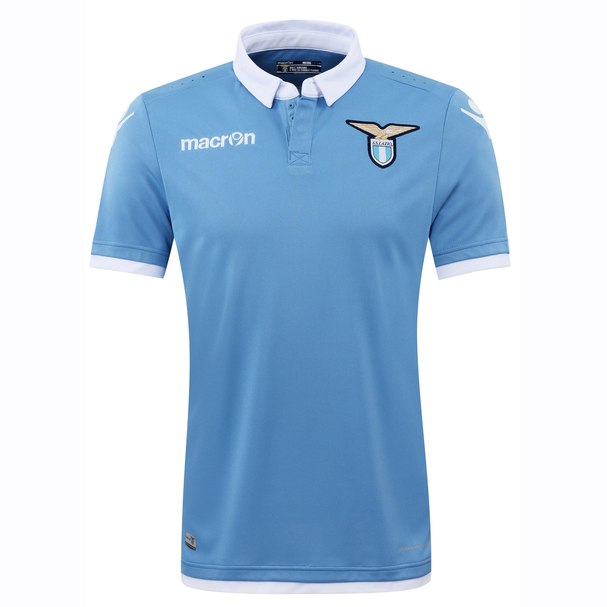 2016-2017 Lazio Authentic Home Match Shirt