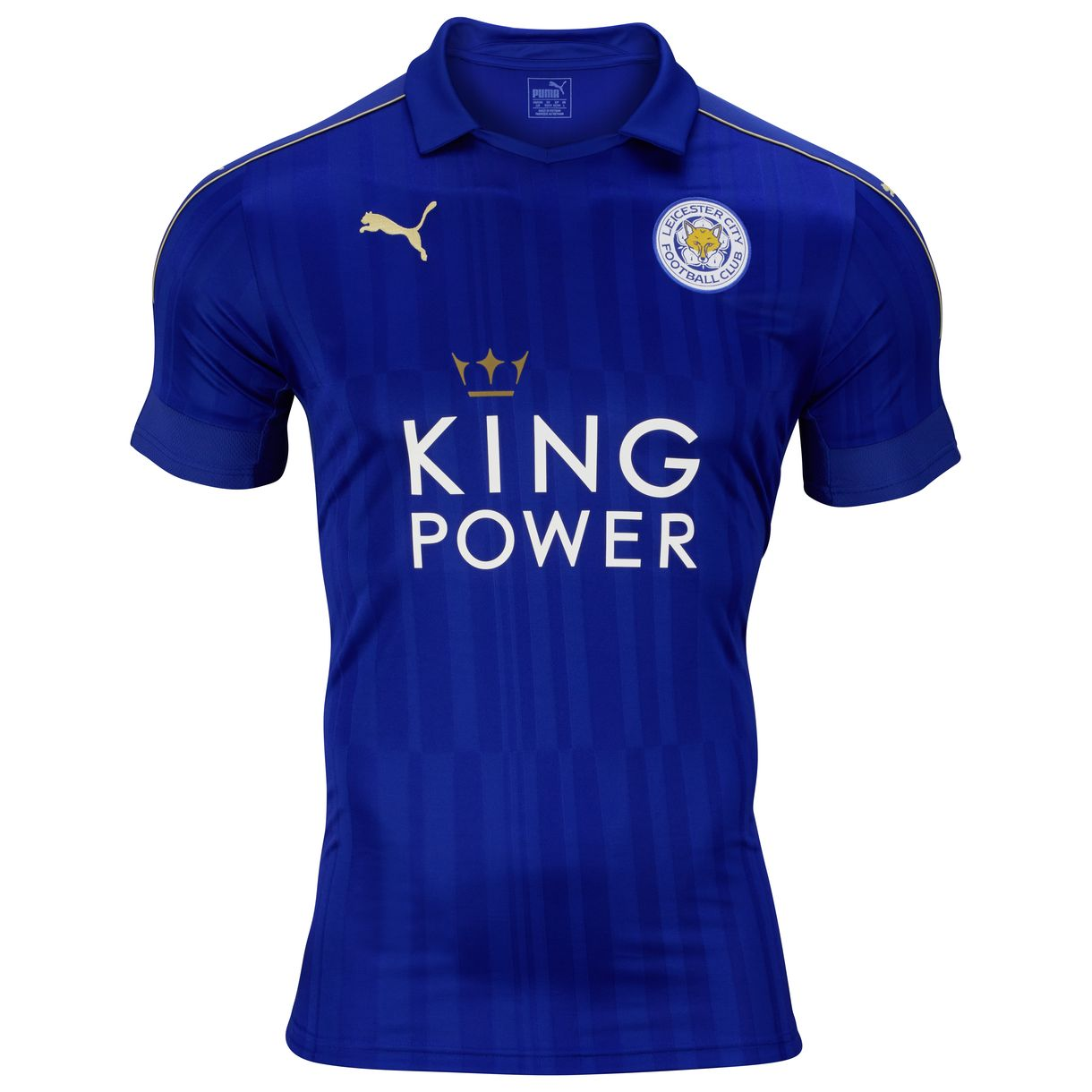 20162017 Leicester City Puma Home Football Shirt