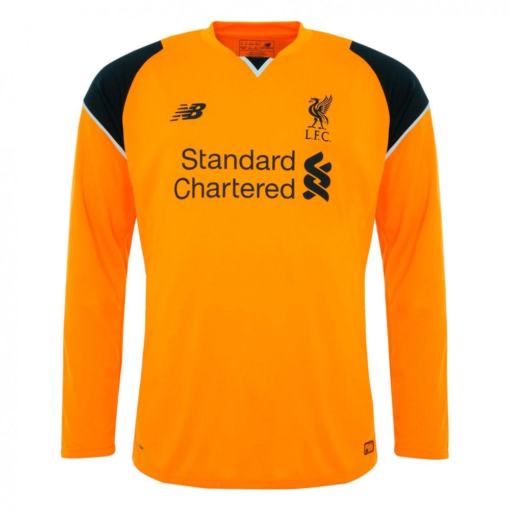 online store e3cfc 3da00 liverpool long sleeve away jersey