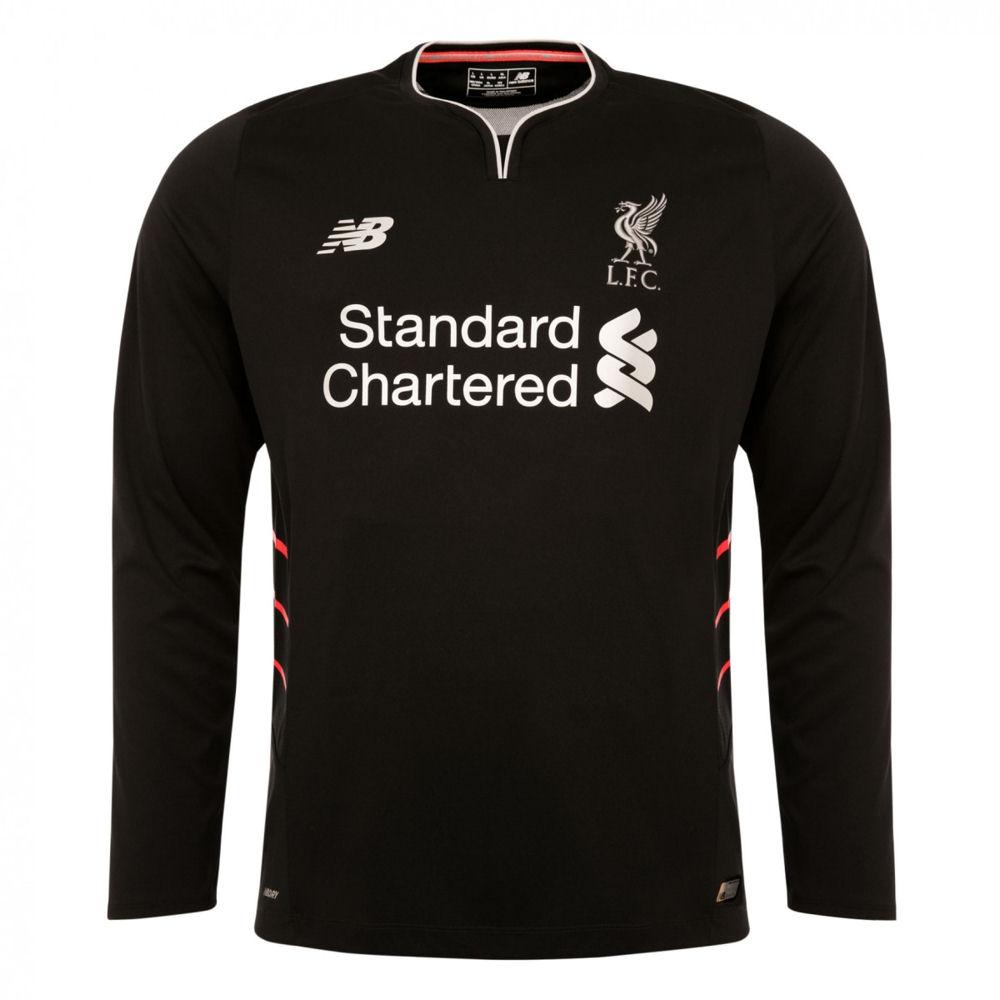 2016-2017 Liverpool Away Long Sleeve Shirt