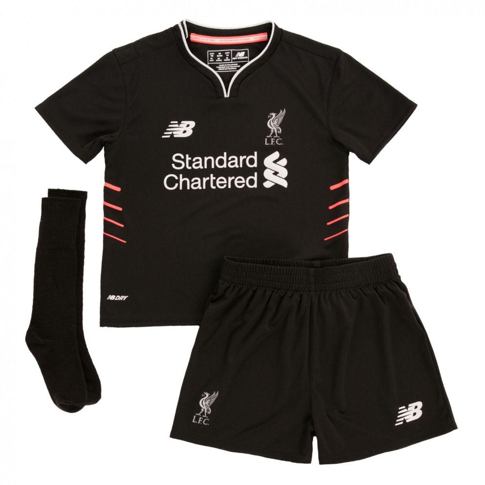 2016-2017 Liverpool Away Little Boys Mini Kit