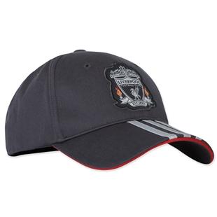 2011-12 Liverpool Adidas 3 Stripe Baseball Cap (Black) [O02598 ...
