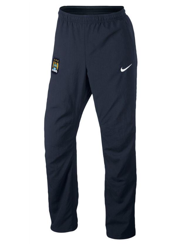 2013-14 Man City Nike Woven Pants (Navy)