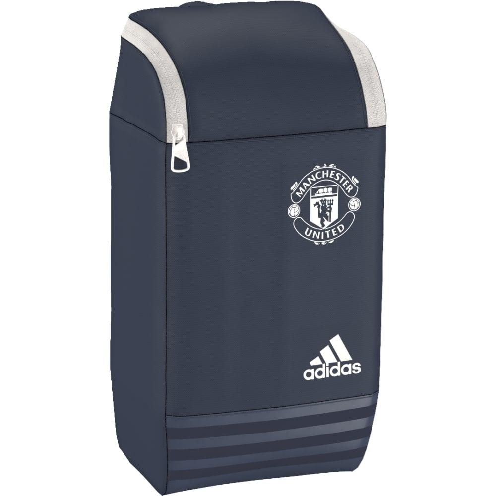 20162017 Man Utd Adidas Shoe Bag (Mineral Blue)