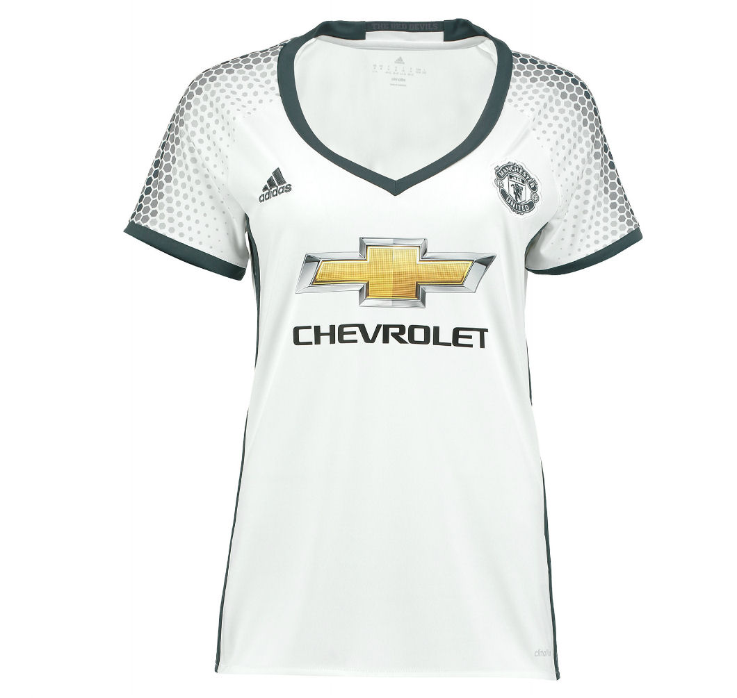 20162017 Man Utd Adidas Womens Third Shirt