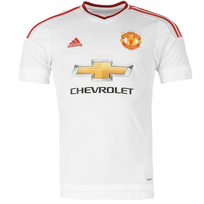 manchester united white jersey Sale a377088e0