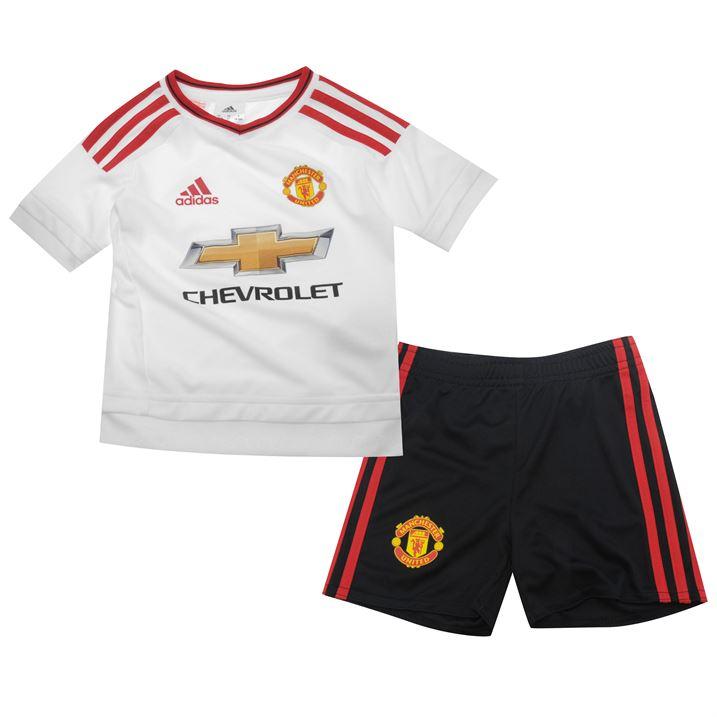 20152016 Man Utd Adidas Away Baby Kit