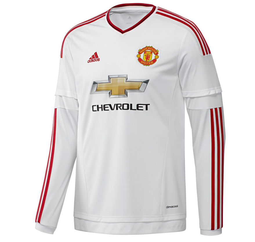 2015-2016 Man Utd Adidas Away Long Sleeve Shirt