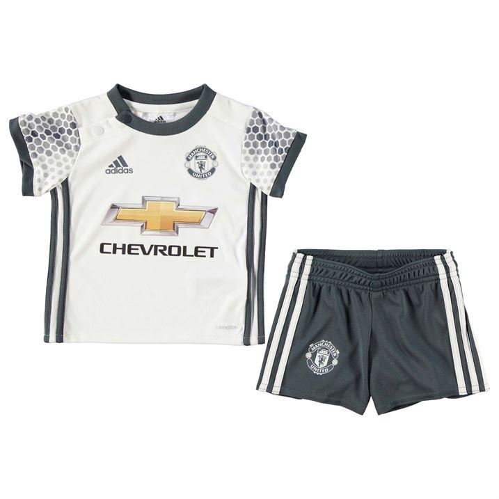 20162017 Man Utd Adidas Third Baby Kit