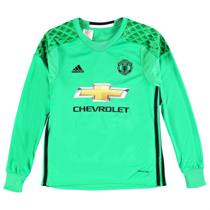 huge discount 456e7 fb8bf manchester united goalkeeper shirt