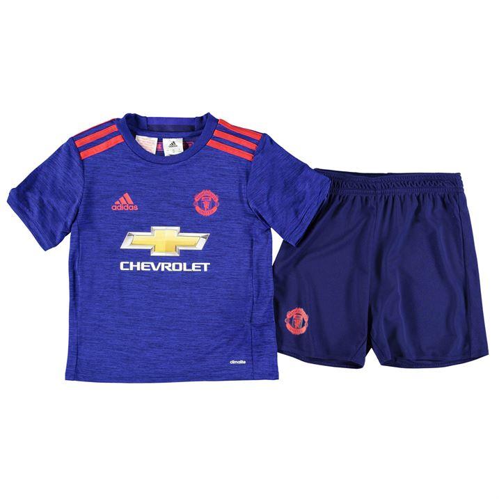 20162017 Man Utd Adidas Away Baby Kit