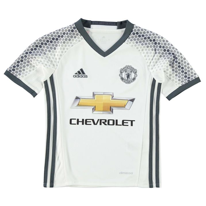 20162017 Man Utd Adidas Third Football Shirt (Kids)