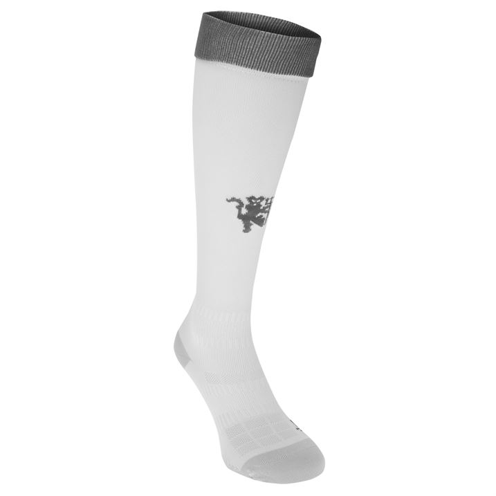 20162017 Man Utd Adidas Third Socks (White)
