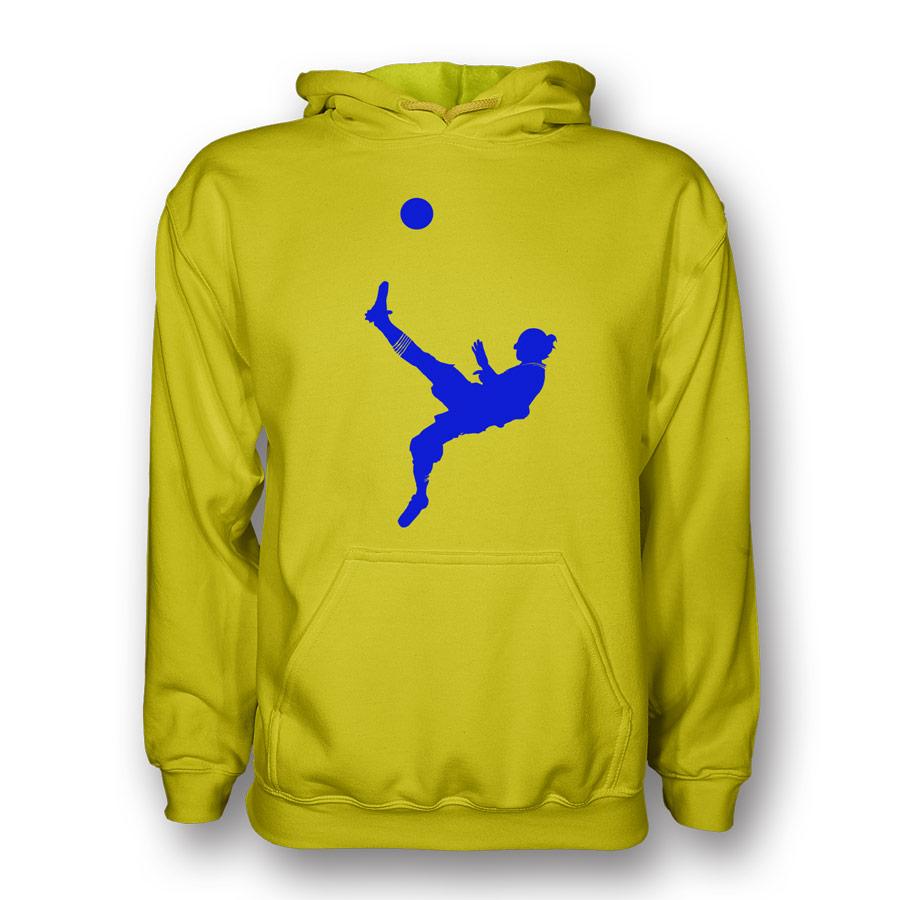 Zlatan Ibrahimovic Bicycle Kick Hoody (yellow)  Kids