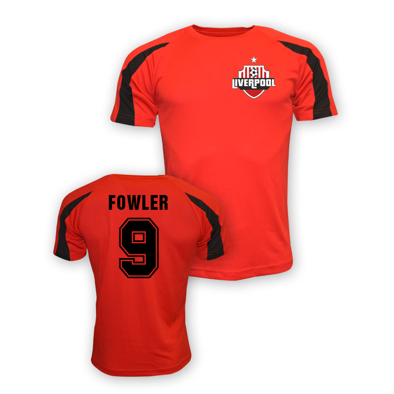 Robbie Fowler Liverpool Sports Training Jersey (red) - Kids