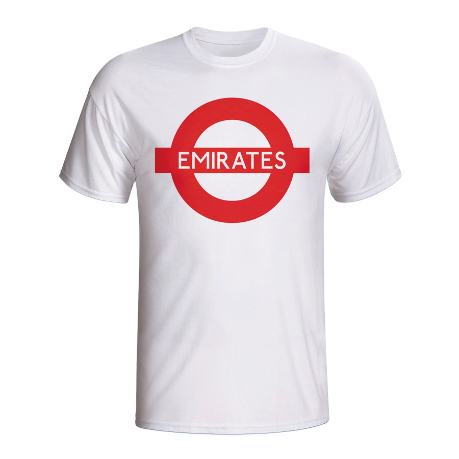 Emirates London Tube T-shirt (white) - Kids