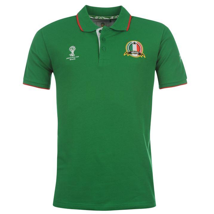 Mexico 2014 FIFA Core Polo Shirt (Green)