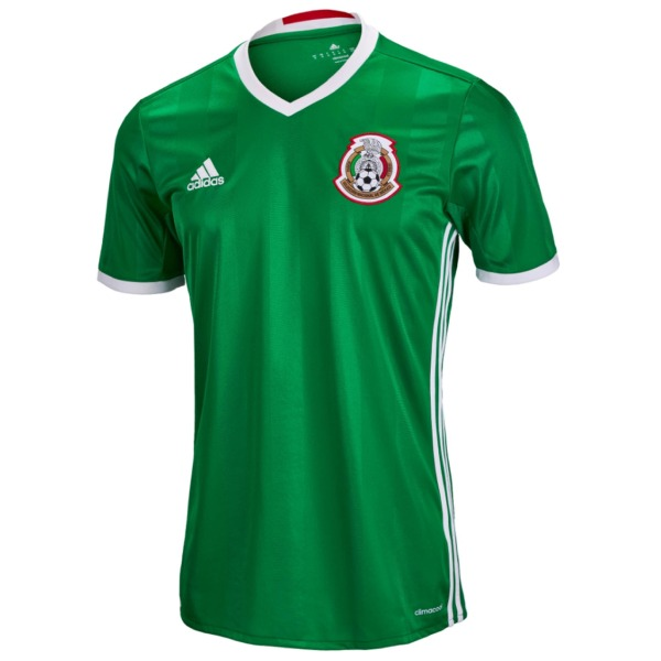 2016-2017 Mexico Home Adidas Football Shirt