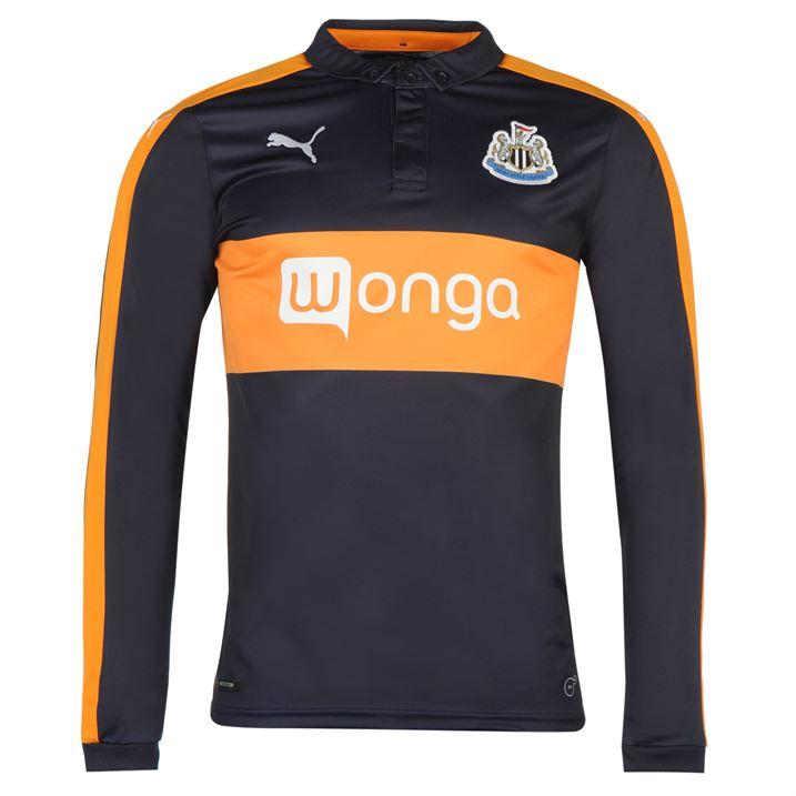 2016-2017 Newcastle Away Long Sleeve Shirt