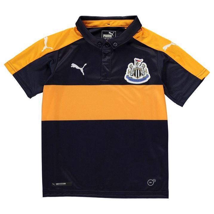 2016-2017 Newcastle Away Football Shirt (Kids)