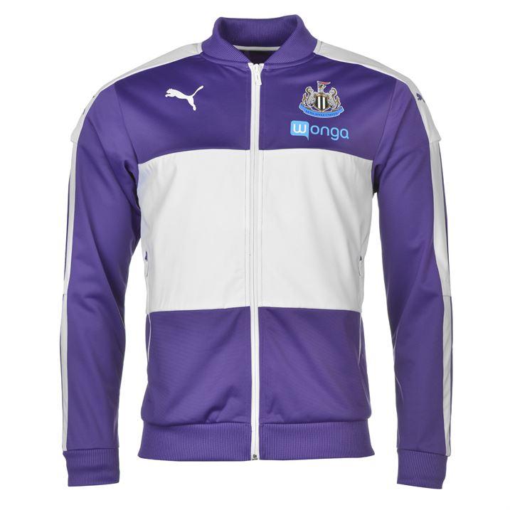 2016-2017 Newcastle Puma Stadium Jacket (Violet)