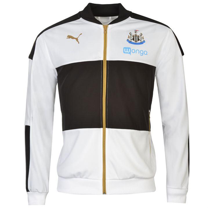 2016-2017 Newcastle Puma Stadium Jacket (White)