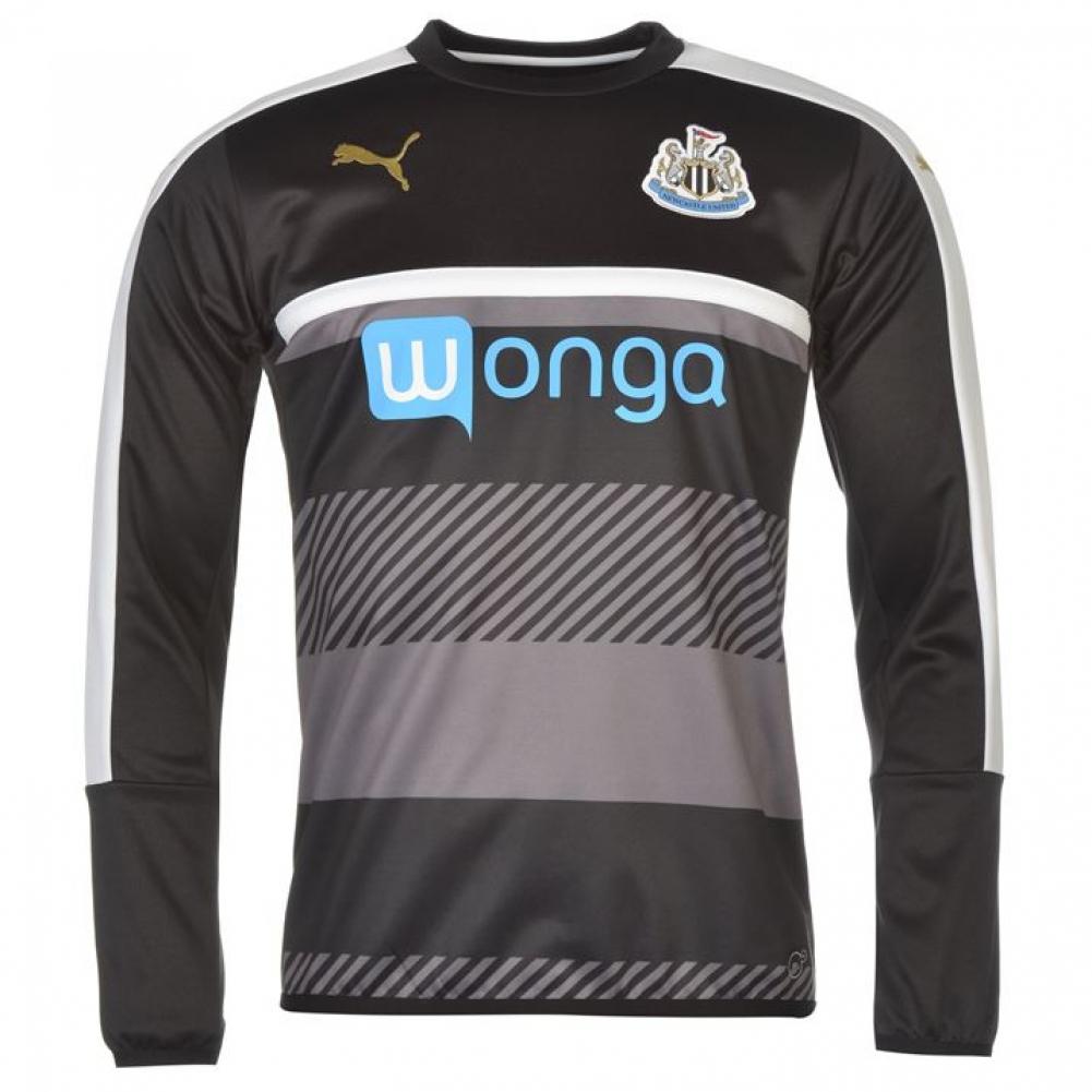 2016-2017 Newcastle Puma Sweat Top (Black)