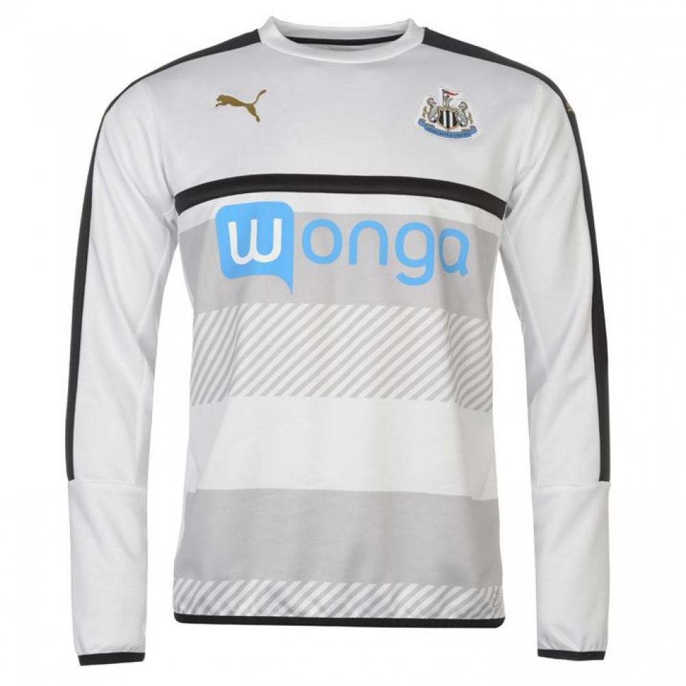 2016-2017 Newcastle Puma Sweat Top (White)