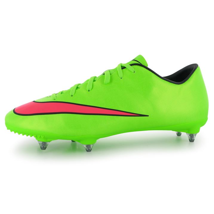 new photos 742e8 1624c Nike Mercurial Victory CR7 SG Mens Football Boots (GreenHyper)