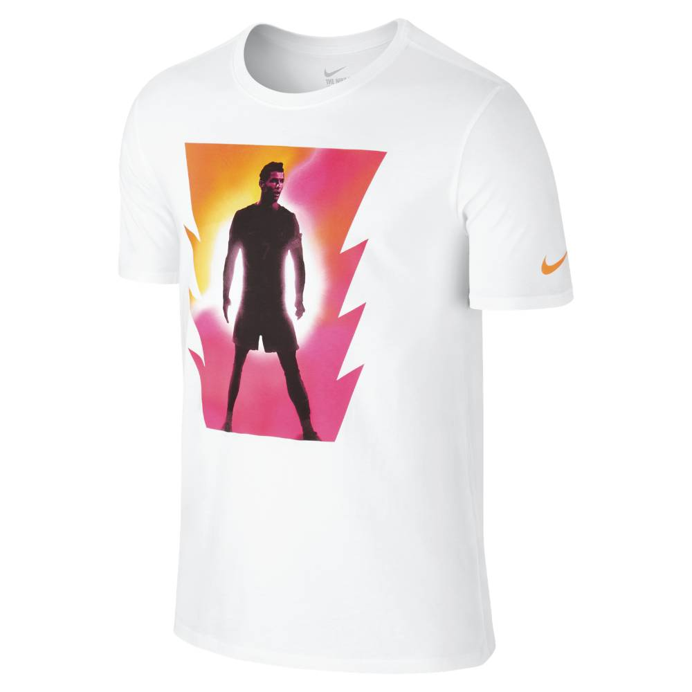 2015-2016 Ronaldo CR7 Nike Hero Image Shirt (White)