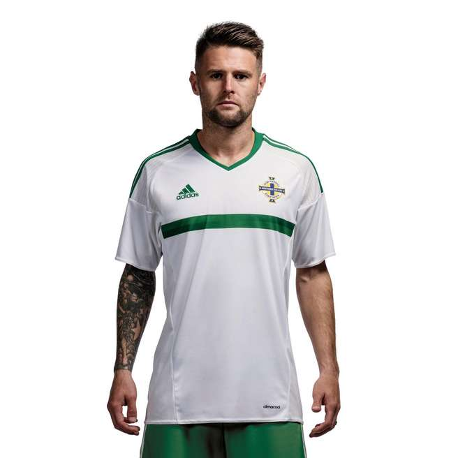 20162017 Northern Ireland Away Adidas Football Shirt