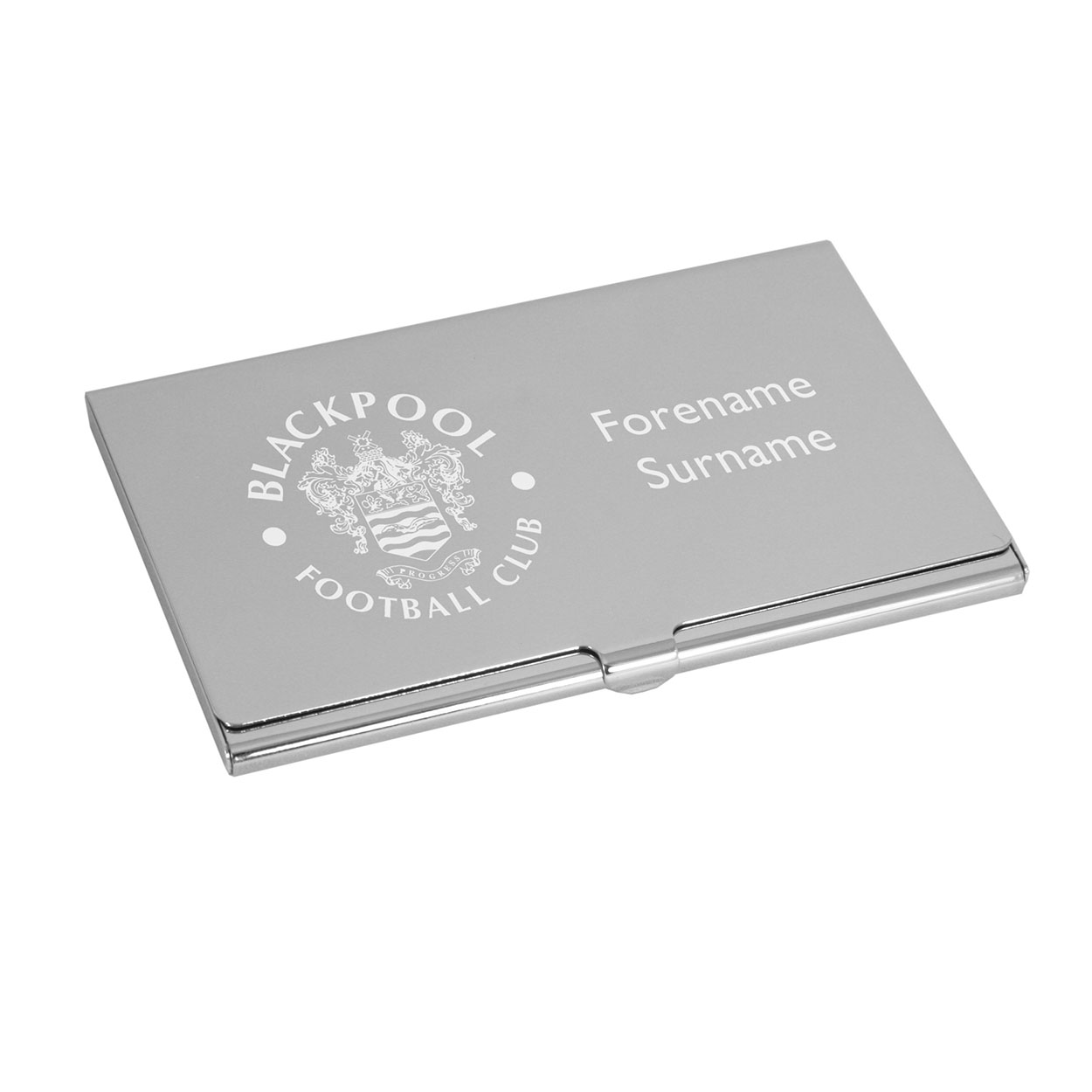 Personalised blackpool football club business card holder blabc personalised blackpool football club business card holder blabc uksoccershop colourmoves