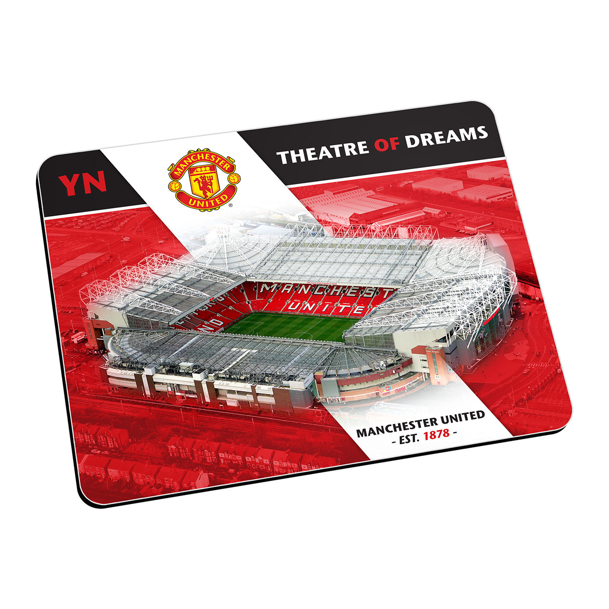 Personalised Manchester United Old Trafford Mouse Mat